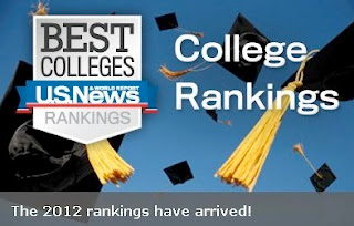 UPenn and US News and World Report National University Rankings