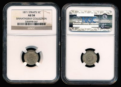 1871 5 cent