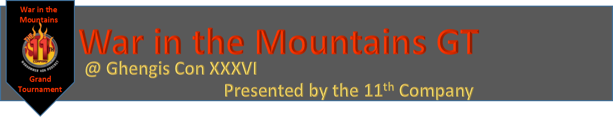 11th Company War in the Mountains GT