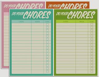 Chore checklist