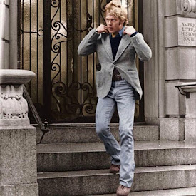 FASHION: The Art of Wearing Jeans with a Sport Coat...