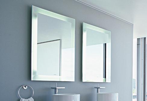 Revista indoor ba o moderno o rustico cual es tu estilo - Lamparas espejo bano ...