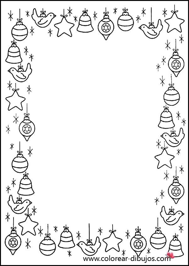 Tarjetas de navidad imagenes de navidad para colorear - Dibujos postales navidad ninos ...