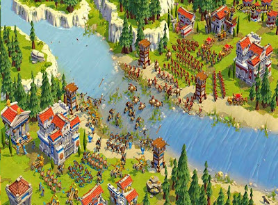 Pertempuran pasukan Goodgame Empire