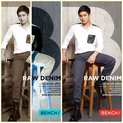 Coco Martin for Bench Back to School (Denim Campaign) 2013