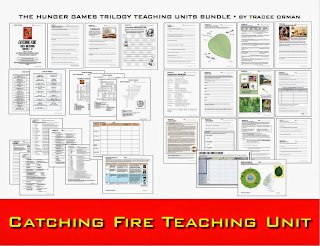 Catching Fire Novel Unit