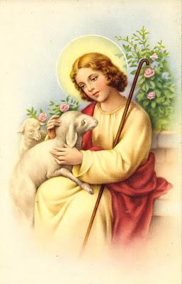 postales religiosas vintage