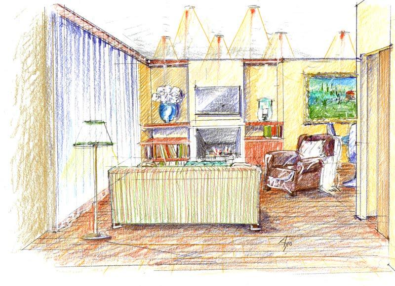 Vent 39 anni di disegni dell 39 arch antonio saporito disegni for Disegni di interni