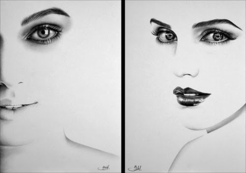 01-Artist-Ileana-Hunter-Minimalist-Hyper-Realistic-Portraits-www-designstack-co