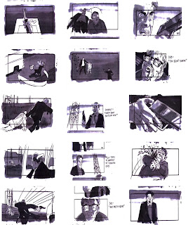 Storyboard - Se7en -  The Box