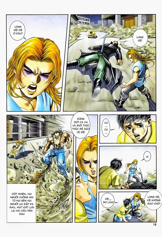 Long Hổ Phong Bạo chap 3 - Trang 18