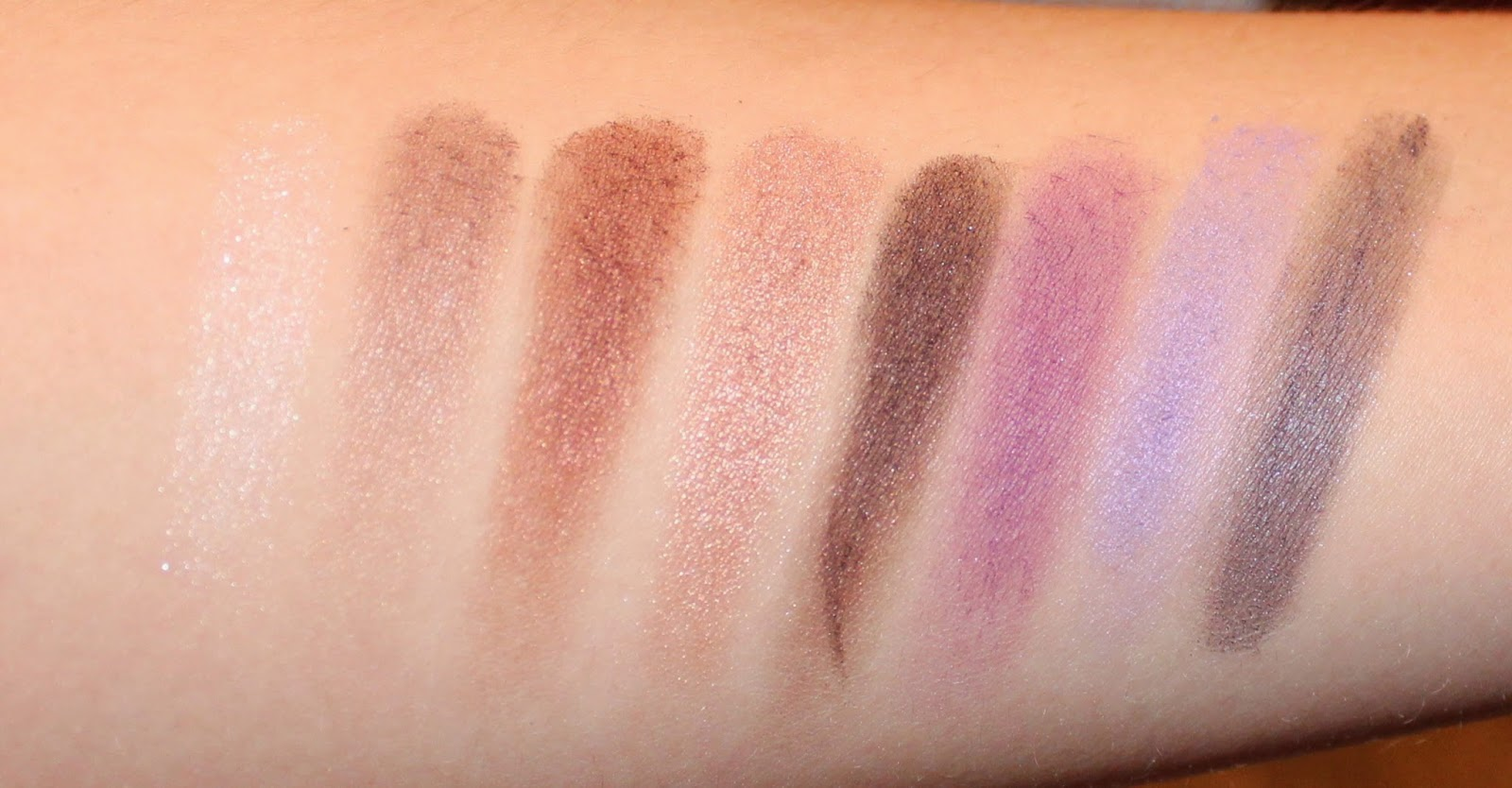 Clinique A Black Honey Affair Palette Swatches