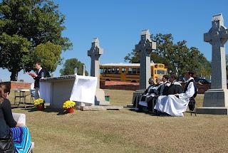 Montgomery Catholic Preparatory Students attend All Souls Day Mass 2