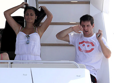 Lionel Messi Marries Antonella