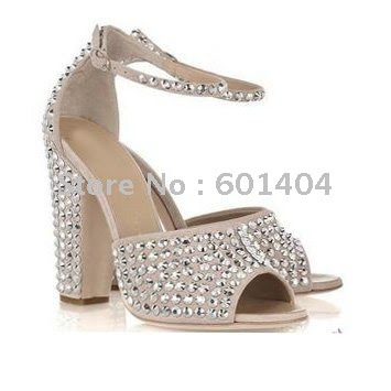 Bridal High Heel Wedge