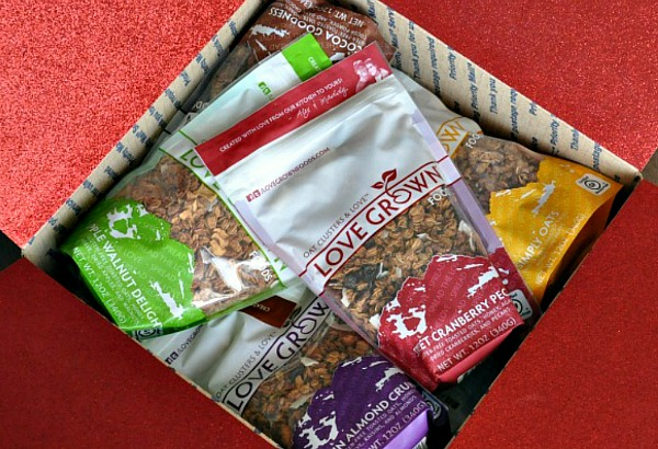 lovegrown granola usmc military care package valentines day