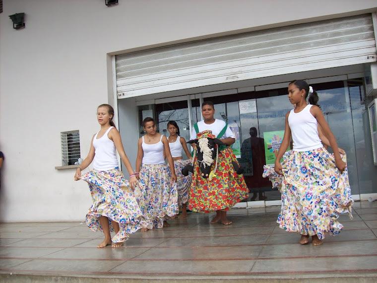 El colectivo cultural estudiantil del Liceo Bolivariano Camoruco:Presente