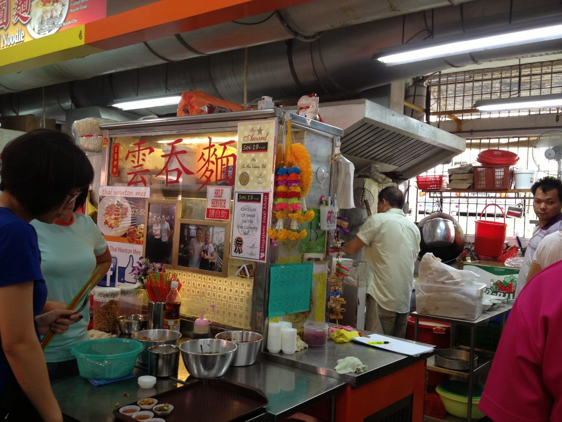 Susan 39 s blog soi 19 thai wanton mee in singapore for Table 85 hours