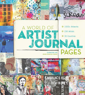 PUBLISHED!  A World of Artist Journal Pages