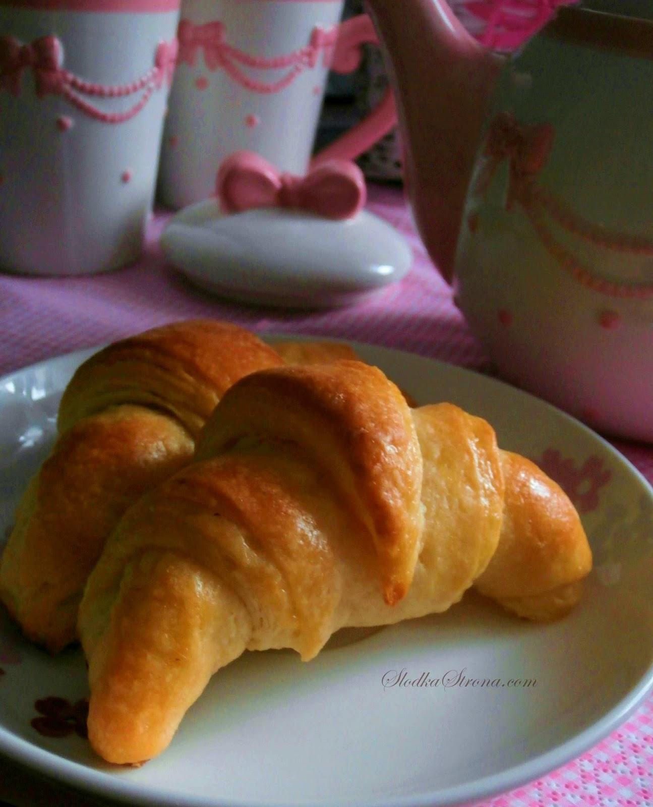 Croissants przepis