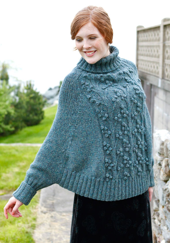 Knitting Pattern For Cape With Sleeves : Knitting And Beading Wedding Bridal Accessories and Free pattern: Pullover an...
