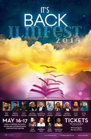 ILMFEST  16-17 May 2015
