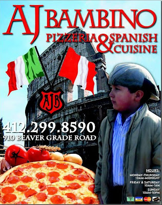 AJ Bambino Pizzeria and Peruvian Cuisine, Pittsburgh, Weekender, talent network