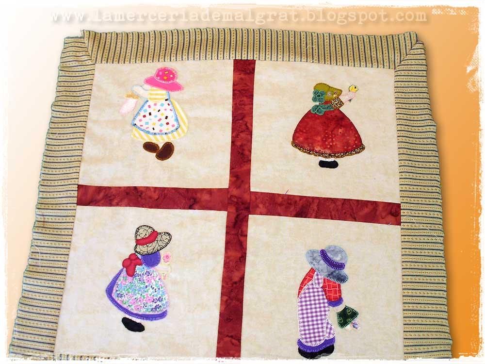 El patchwork de kris cojines de patch felicidades share - Cojines de patchwork ...