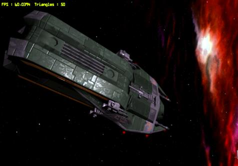 free flight sim Babylon 5: I've Found Her - Black Omega