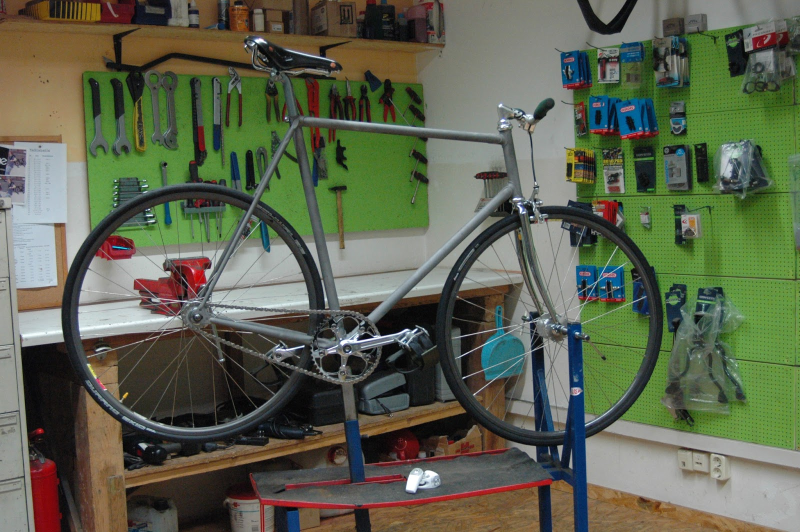 how to build a steel bike frame
