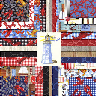 Moda BEACON COVE Quilt Fabric by Paul Brent