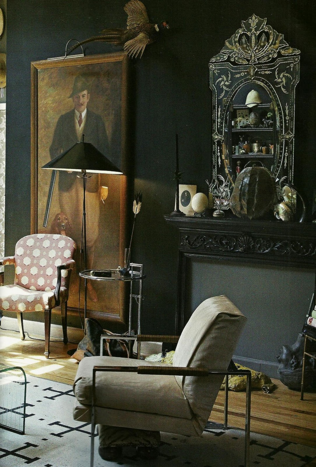 she moves the furniture gentlemen 39 s club. Black Bedroom Furniture Sets. Home Design Ideas