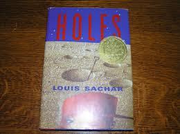 Holes  by louis sachar , Holes , NOVELS, BBC Top 100 Novels Collection, children books, louis sachar books