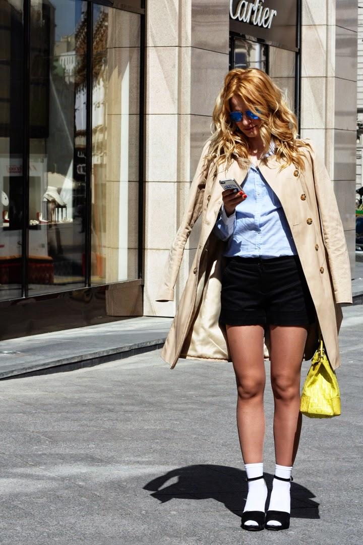 носки с босоножками, модные тренды, модные блоггеры, как носить