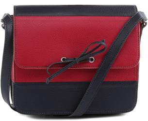 Anacapri verao 2016 bolsa tiracolo azul e vermelha