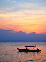 Pulau Besar sunset