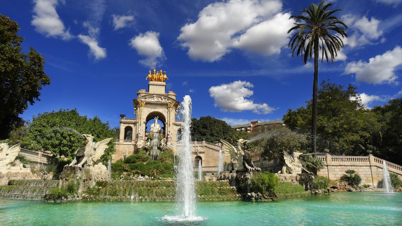 Parque de la ciutadella em barcelona dicas de barcelona for Parques de barcelona