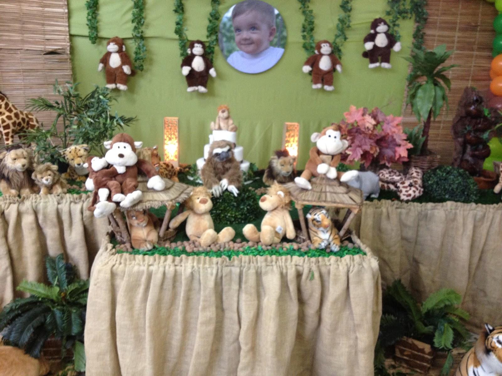 decoracao festa safari:Festa Safari Infantil