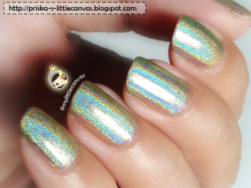 Color Club Holographic Nail Polish - Kismet