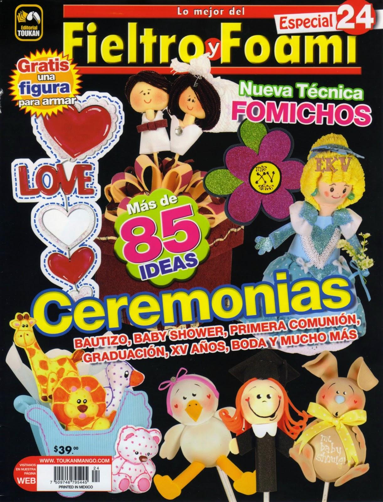 Revistas de Fieltro gratis: Revista del fieltro y foami gratis