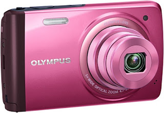 Olympus VH-410: Specs of touchscreen Compact Digital Camera