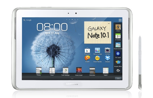 spen samsung galaxy note 10.1 vs apple ipad 3