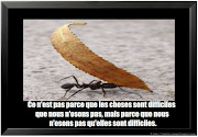Citation image difficile, citation sur les difficultés en image, .