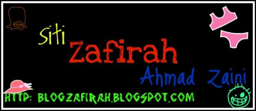 ~ zafirah ~