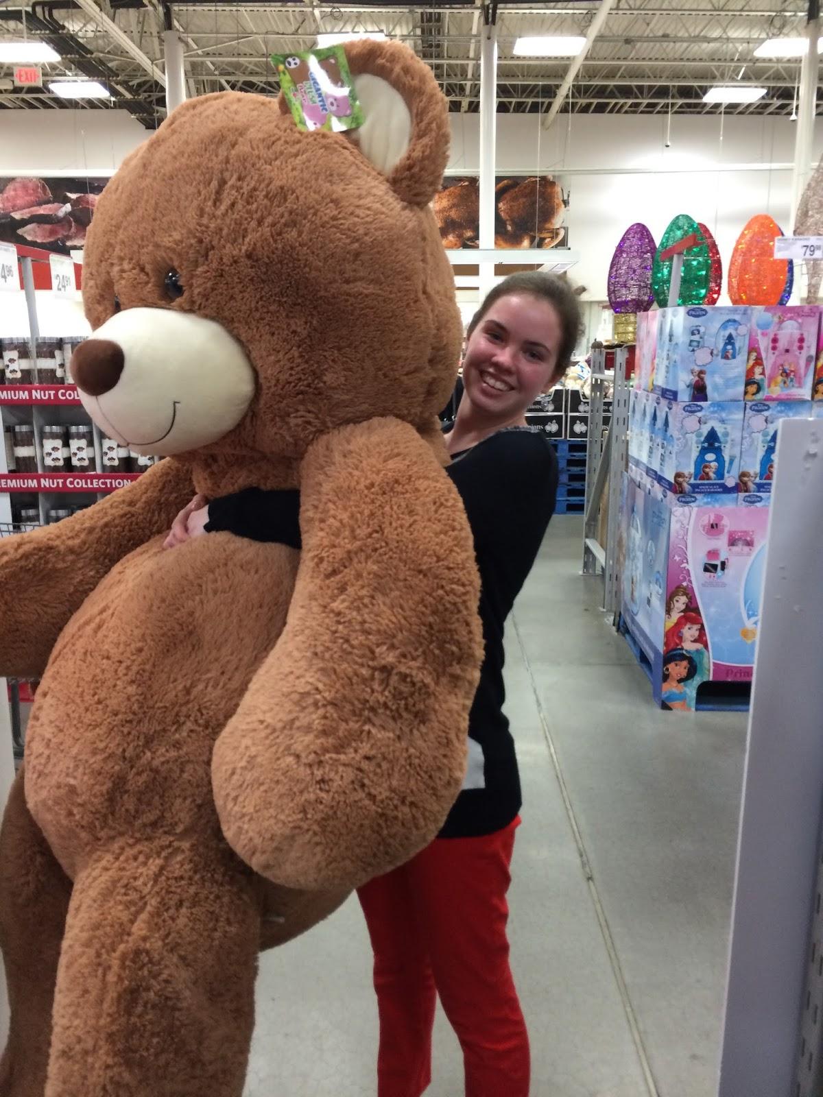 giant teddy bear sams club