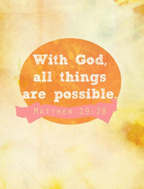 Bagi Tuhan Tak Ada yang Mustahil