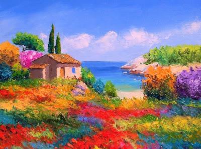 paisajes-florales-al-oleo