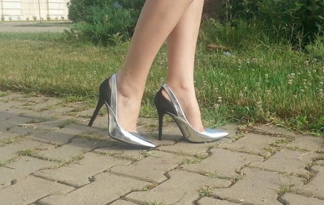 pantofi arginti