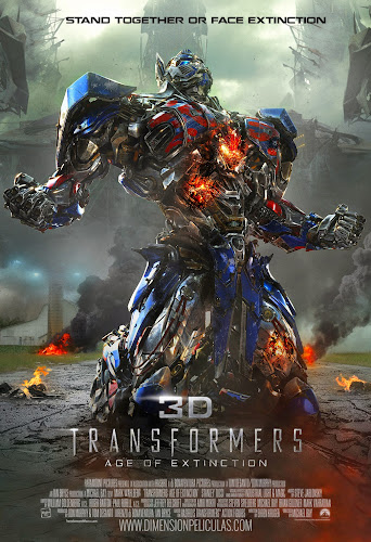 Transformers Age of Extinction (BRRip 3D FULL HD Dual Latino / Ingles) (2014)