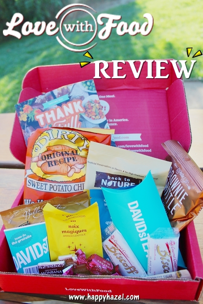 Love With Food Subscription Box Review